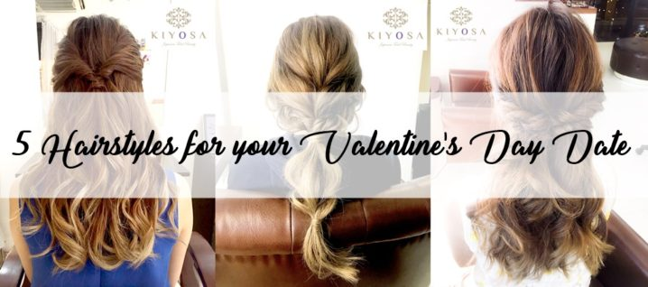 5 Hairstyles for your Valentine\'s Date|KIYOSA Japanese Total Beauty