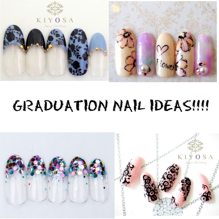 8 Gel Nail Art Designs For Your Graduation Day Kiyosa Japanese