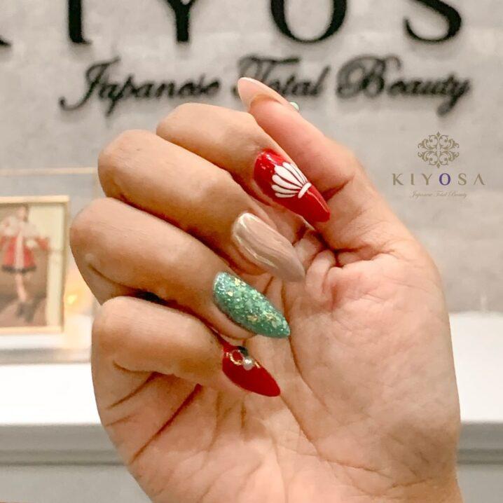 nail art and acrylic extensions at kiyosa makati salon