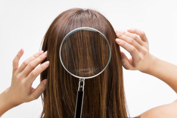 hair damage analysis
