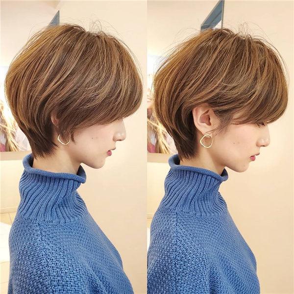 bob cut japanese salon